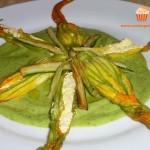 cucinapergioco fiori di zucca ripieni