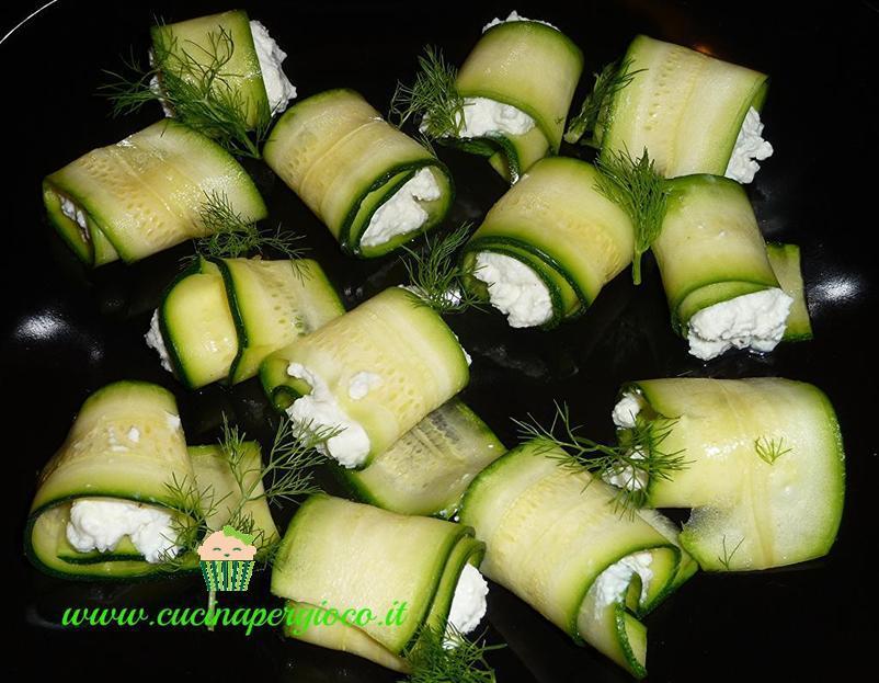 cucinapergioco zucchine con ricotta