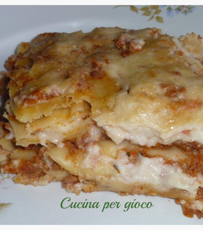 lasagne con ragù