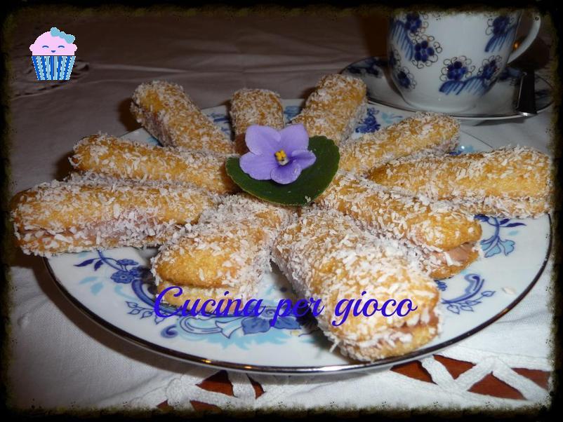cucinapergioco dolcetti ai pavesini