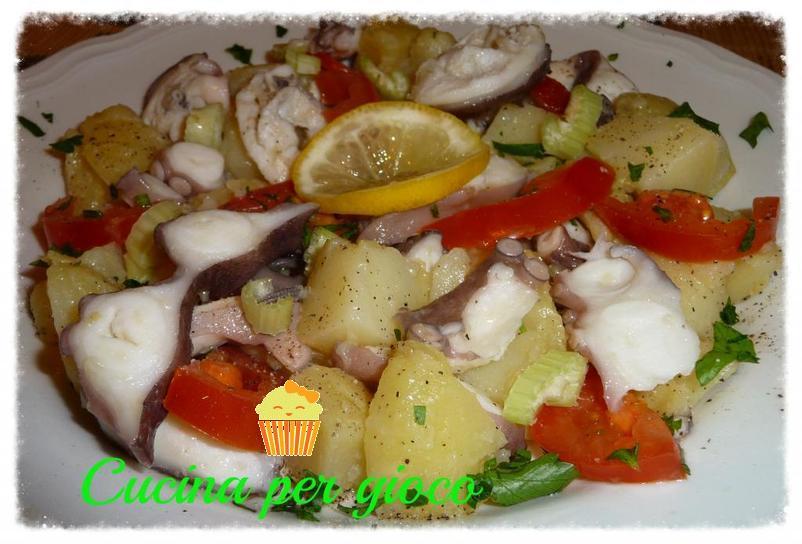 cucinapergioco insalata di piovra