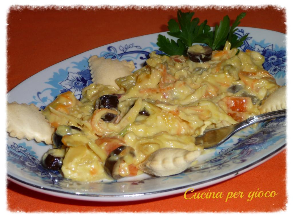 Cucinapergioco insalata di pollo