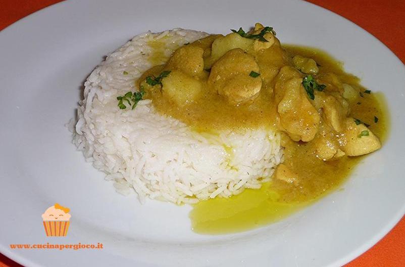 cucinapergioco pollo al curry