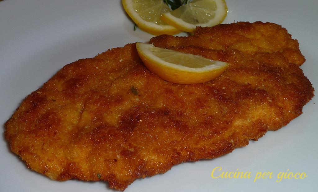 Petti di pollo alla milanese - Cucina per Gioco