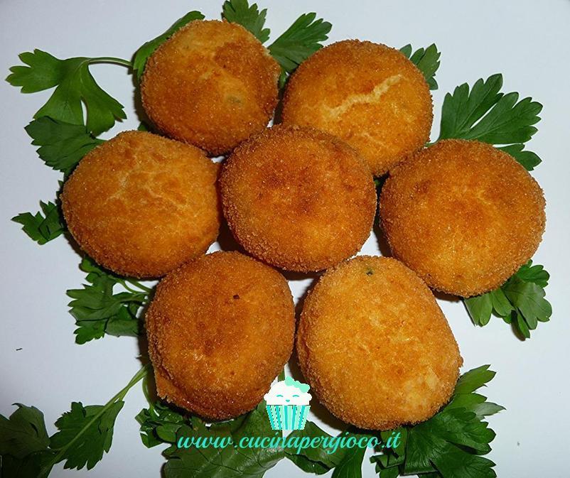 cucinapergioco polpettine con formaggio caprino