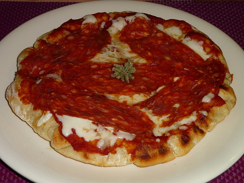 Pizza in padella